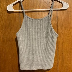 💕Brandy Melville ribbed cropped tank top